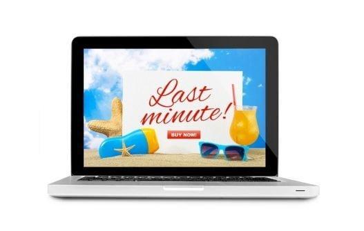Last minute rejser